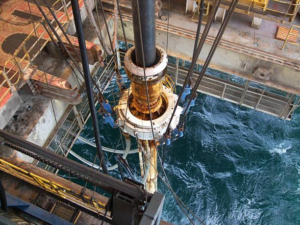 Slip conjunto de Estação Petrolífera - foto de acervo