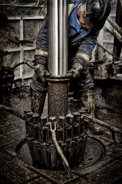 Oil Rig Worker 2.0 stock photo