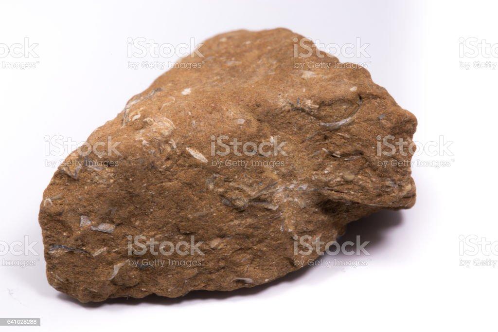 oil shale stone stock photo