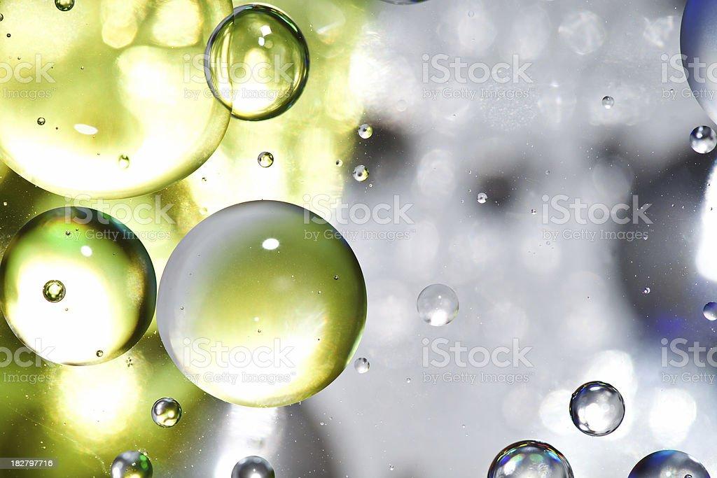 Oil Spheres stock photo
