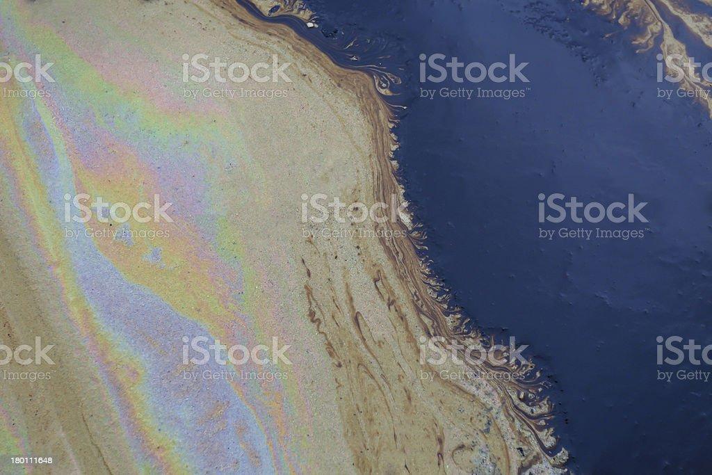 Oil spill auf Gulf Coast beach – Foto