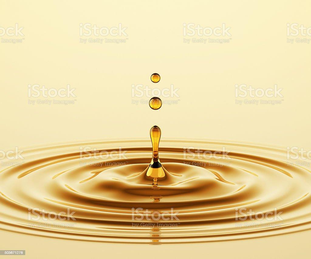 Oil Splash stock photo