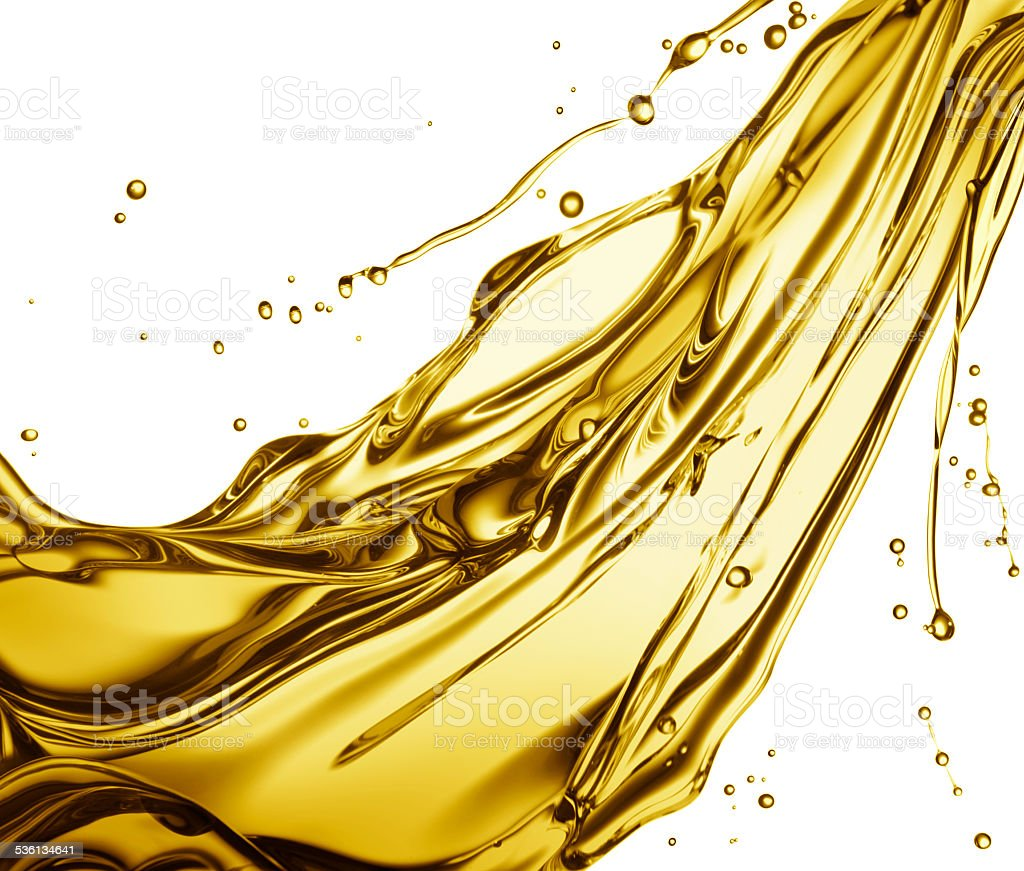 oil splash stock photo