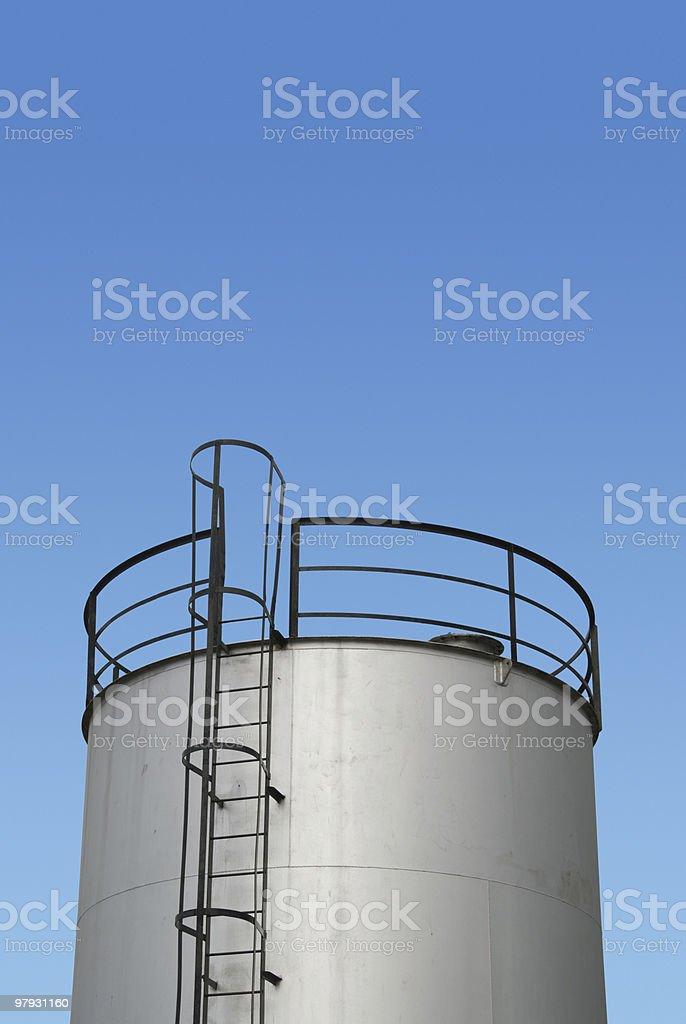 Oil storage royalty-free stock photo