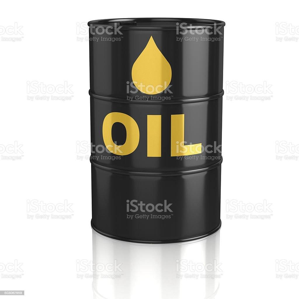 oil tank 3d icon stock photo