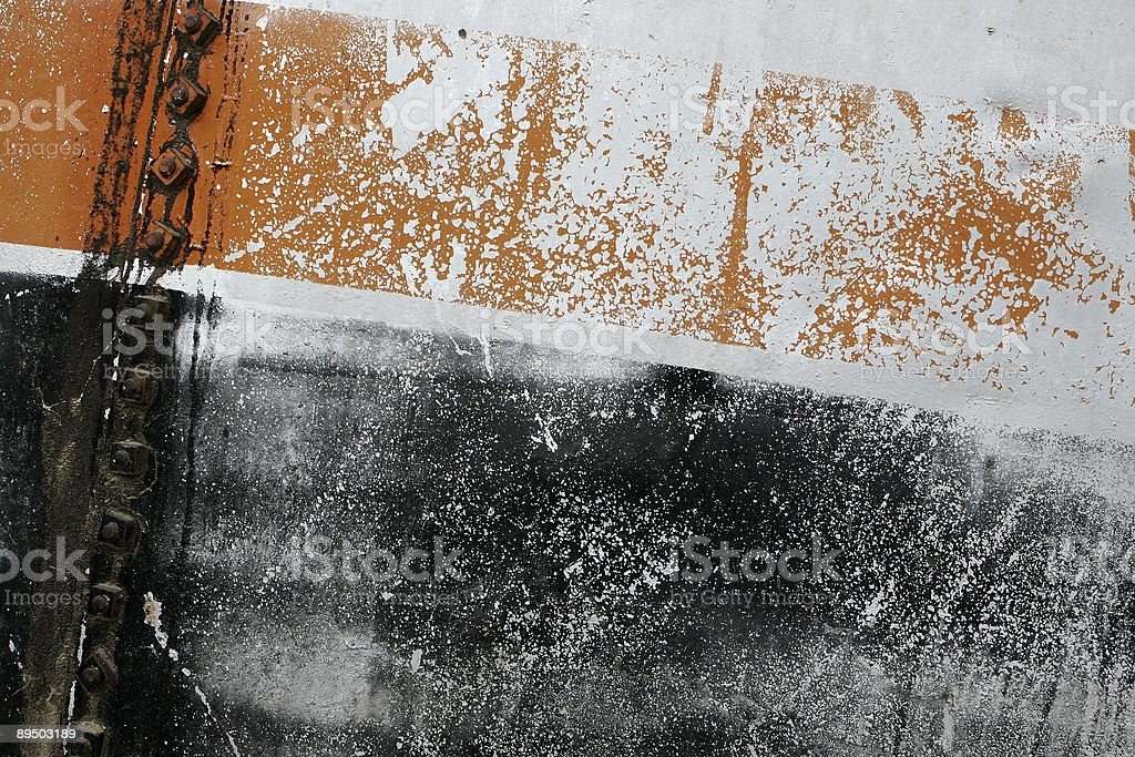 Oil Tank Textures royalty-free stock photo