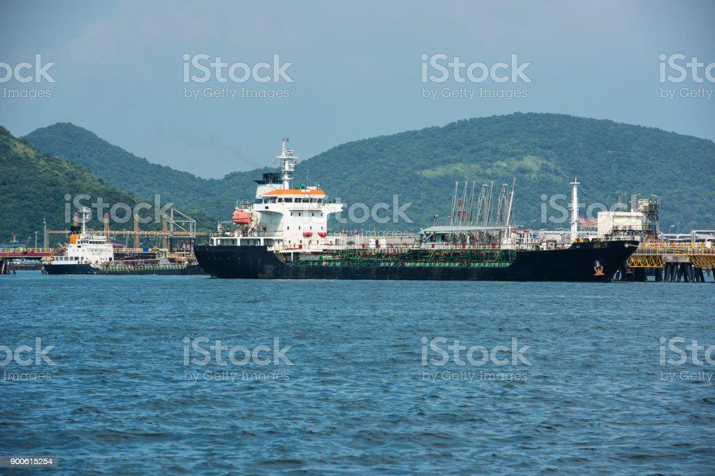 Oil Tanker Gas Tanker In The High Searefinery Industry Cargo