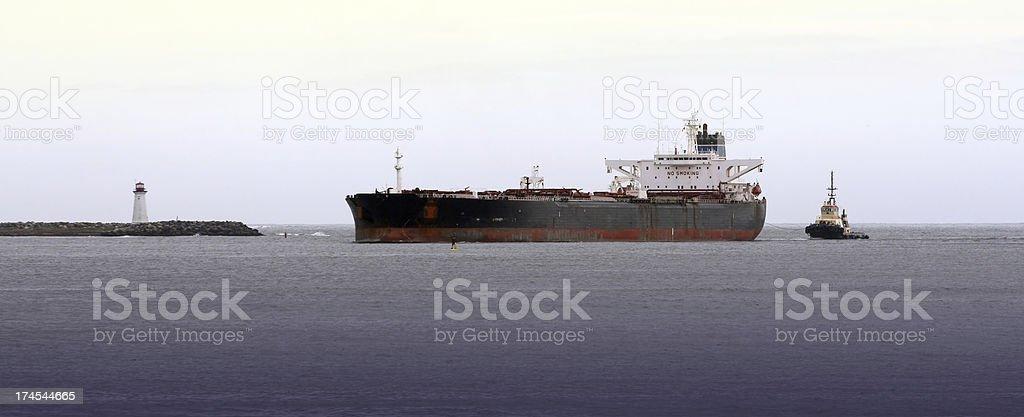 Oil Tanker royalty-free stock photo