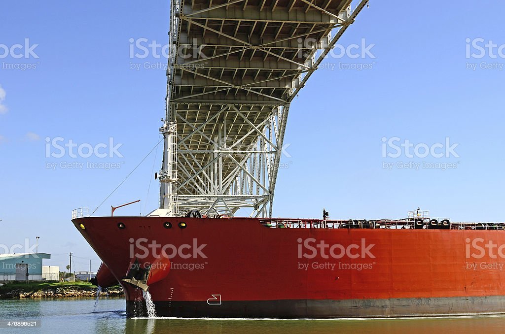 Oil Tanker stock photo