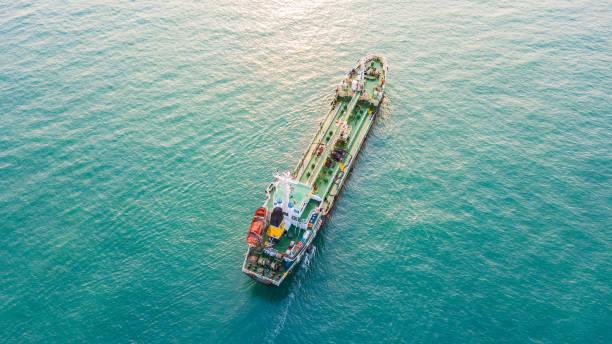 Öl-Tanker-Schiff – Foto