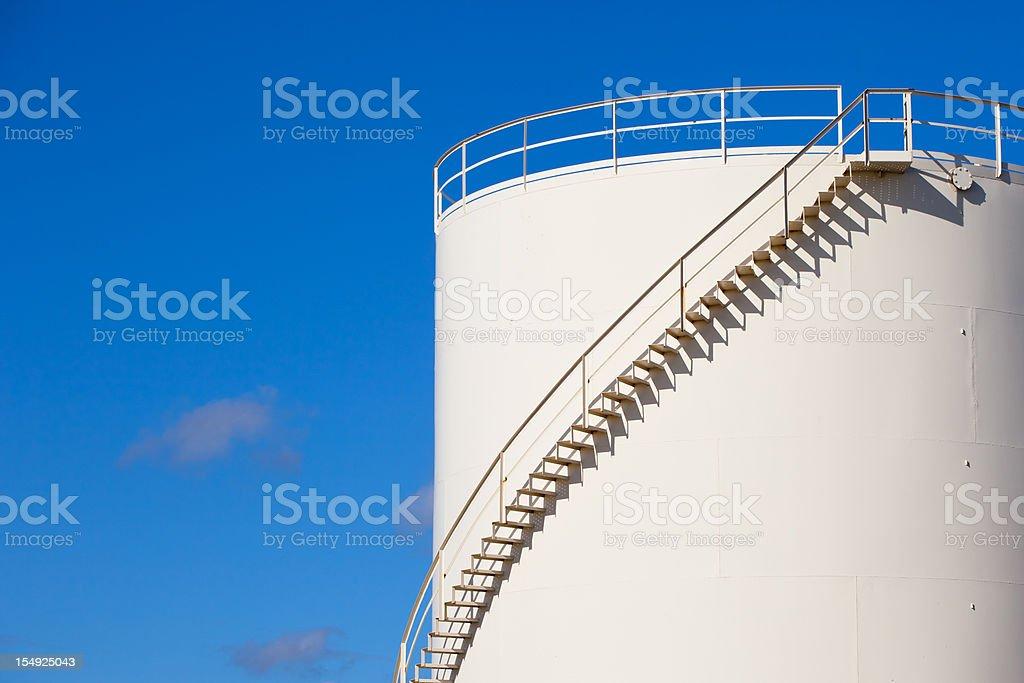 Oil Tanks royalty-free stock photo