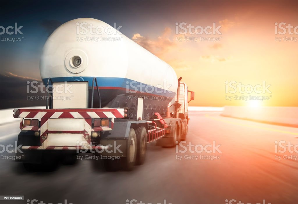 Oil transport by truck