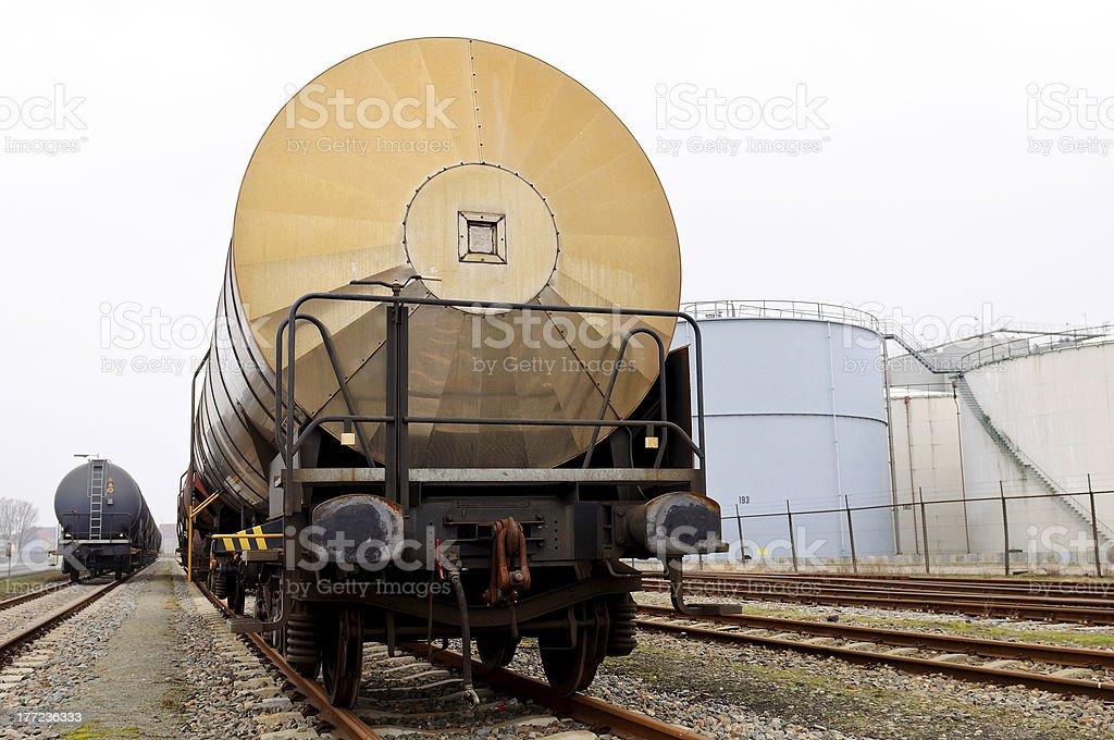 oil transportation train royalty-free stock photo