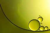 2.5:1 macro photography of oil and water.