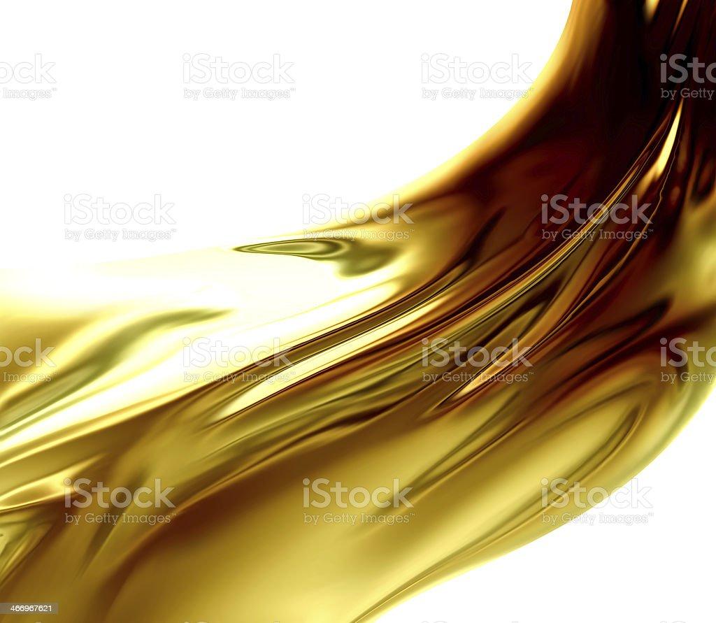 Oil Wave stock photo