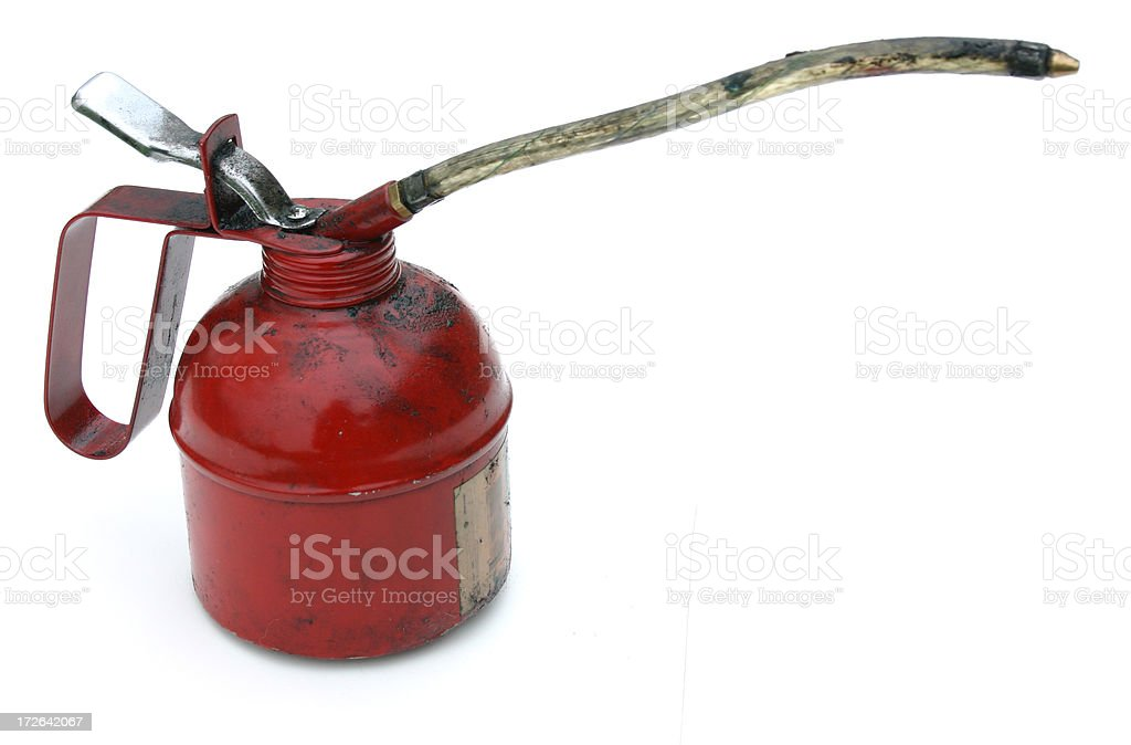 oilcan profile royalty-free stock photo