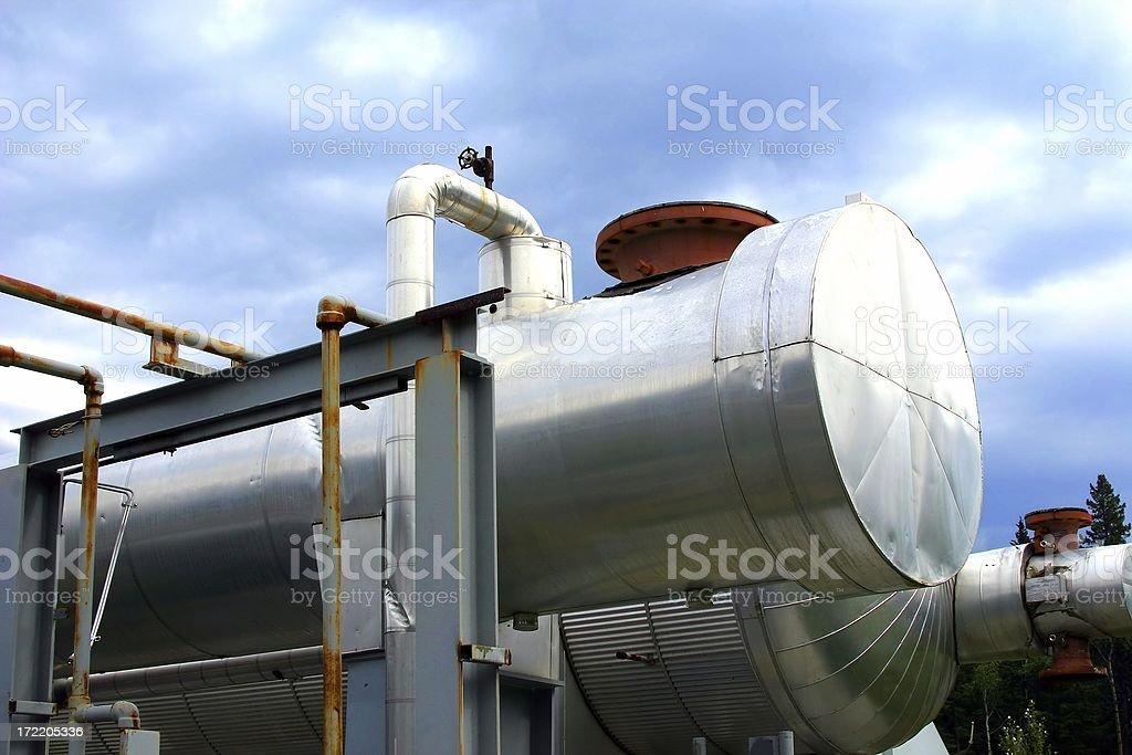Oilfield # 6 stock photo