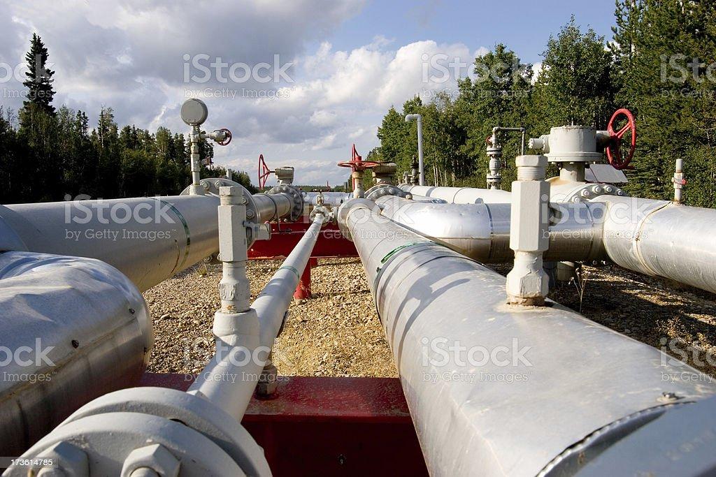 Oilfield # 14 stock photo