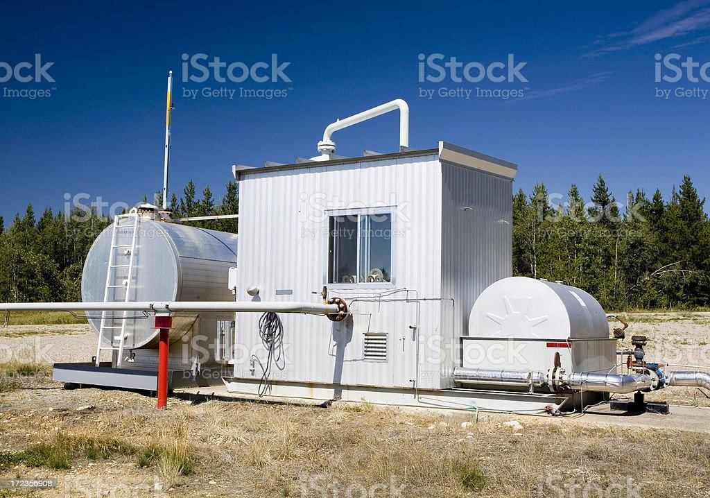 Oilfield Technology royalty-free stock photo