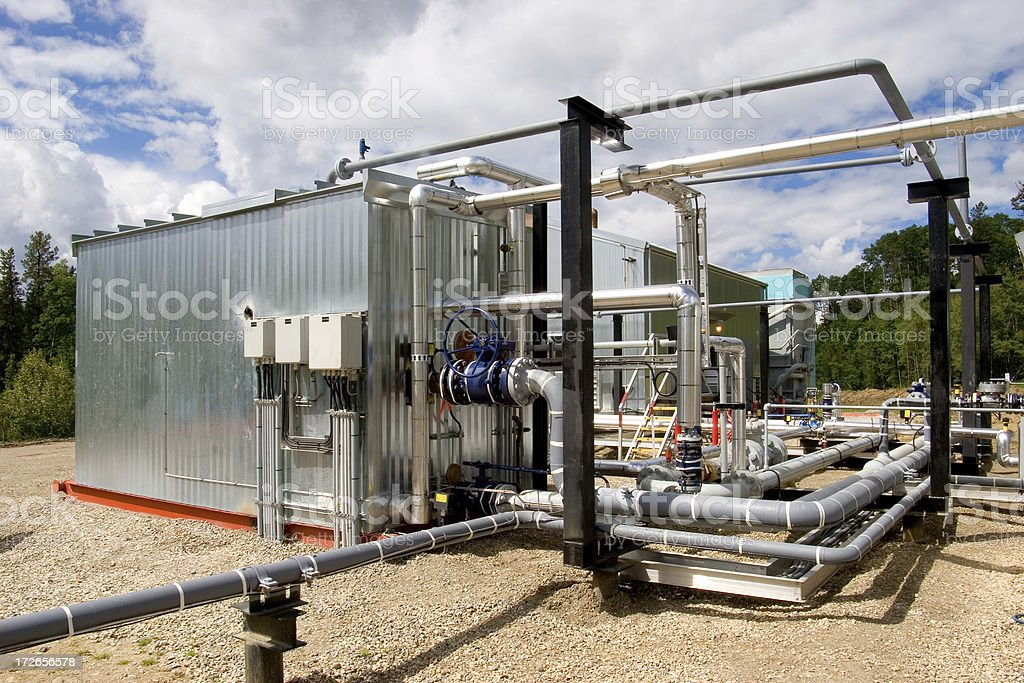 Oilfield Technology # 4 royalty-free stock photo
