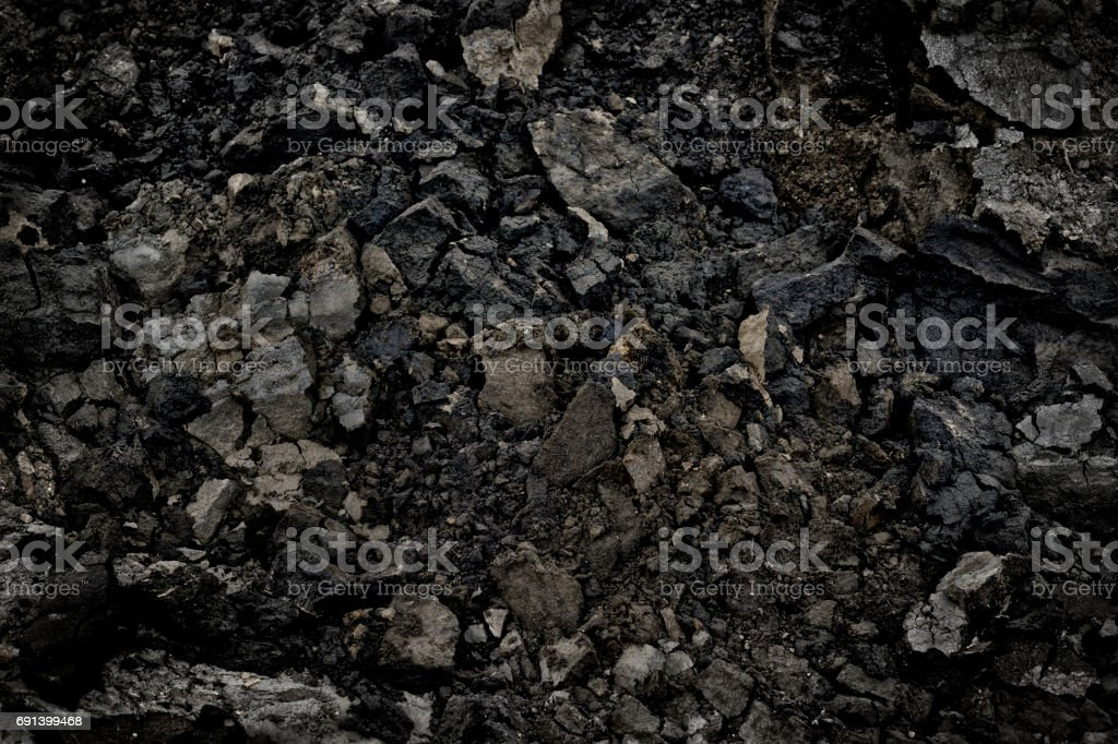 Oilsands Bitumen stock photo