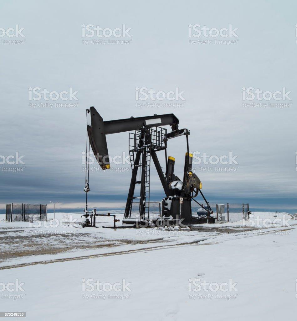 oil-well stock photo
