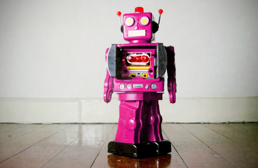 Oink Robot Juguete Foto de stock y más banco de imágenes de Anticuado