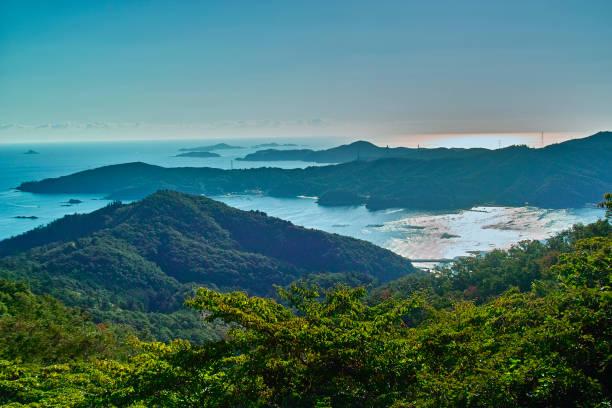 Ojika peninsula stock photo