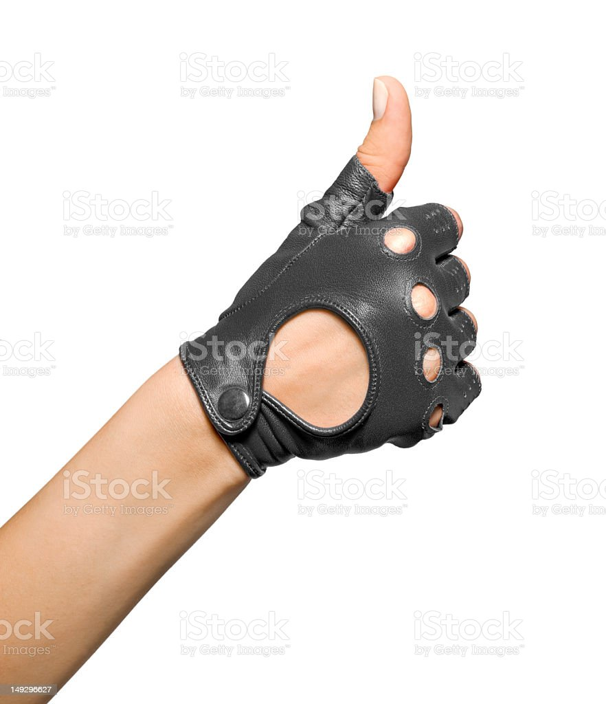 ok gesture female hands royalty-free stock photo