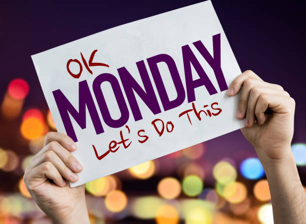 ok monday, lets do this - monday motivation stock photos and pictures