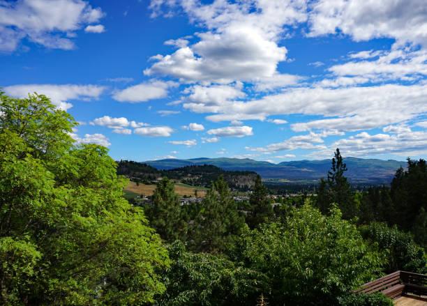 Okanagan Valley in Kelowna stock photo