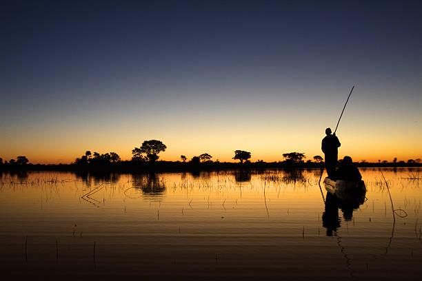 Okavango floating