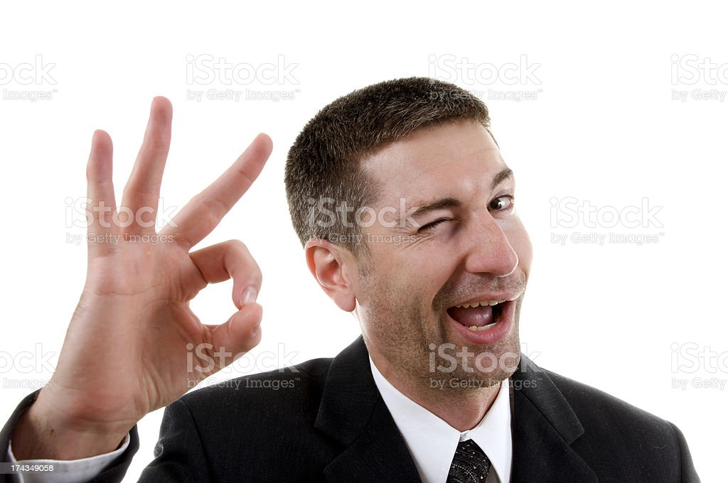 Okay! stock photo