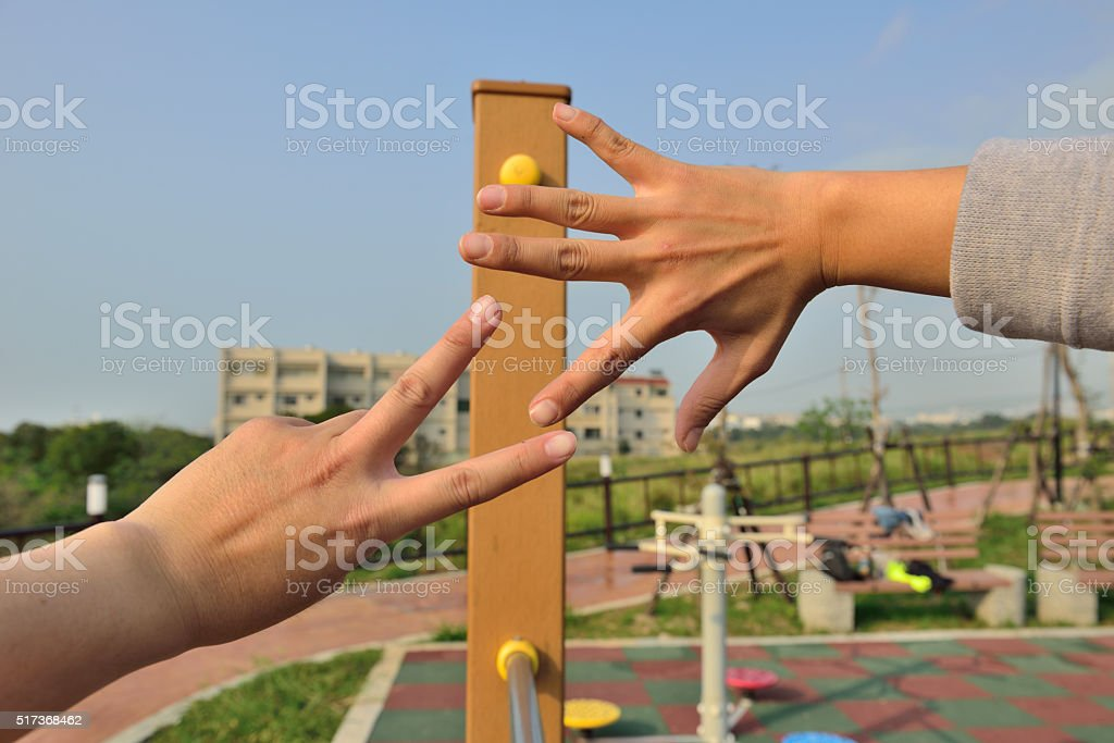 Okay shoot for it.loser goes first. stock photo