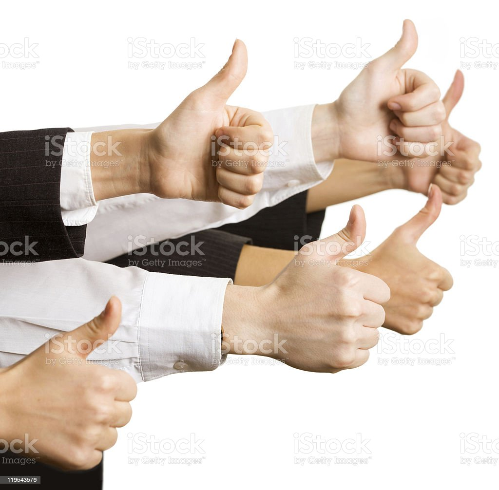 Okay sign royalty-free stock photo