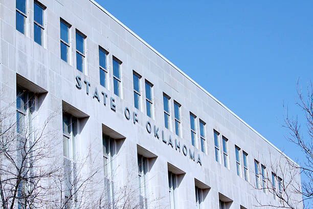 Okhahoma State Government Building stock photo