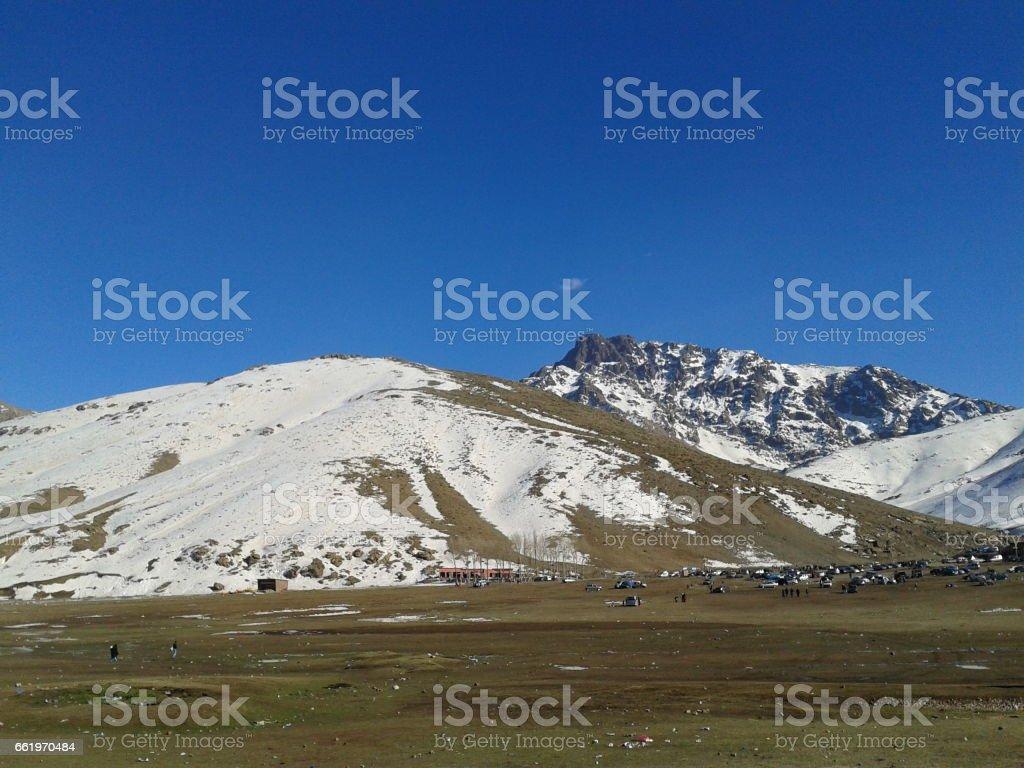 Okimdn Marrakech station de ski royalty-free stock photo