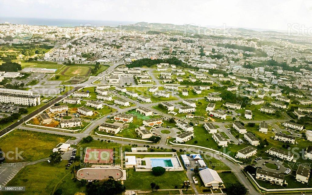 Okinawa, Japonia: Widok z lotu ptaka – zdjęcie