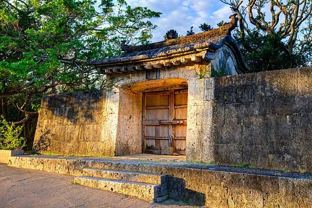Okinawa Ruins Old palace ruins in Naha, Okinawa, Japan. naha okinawa stock pictures, royalty-free photos & images