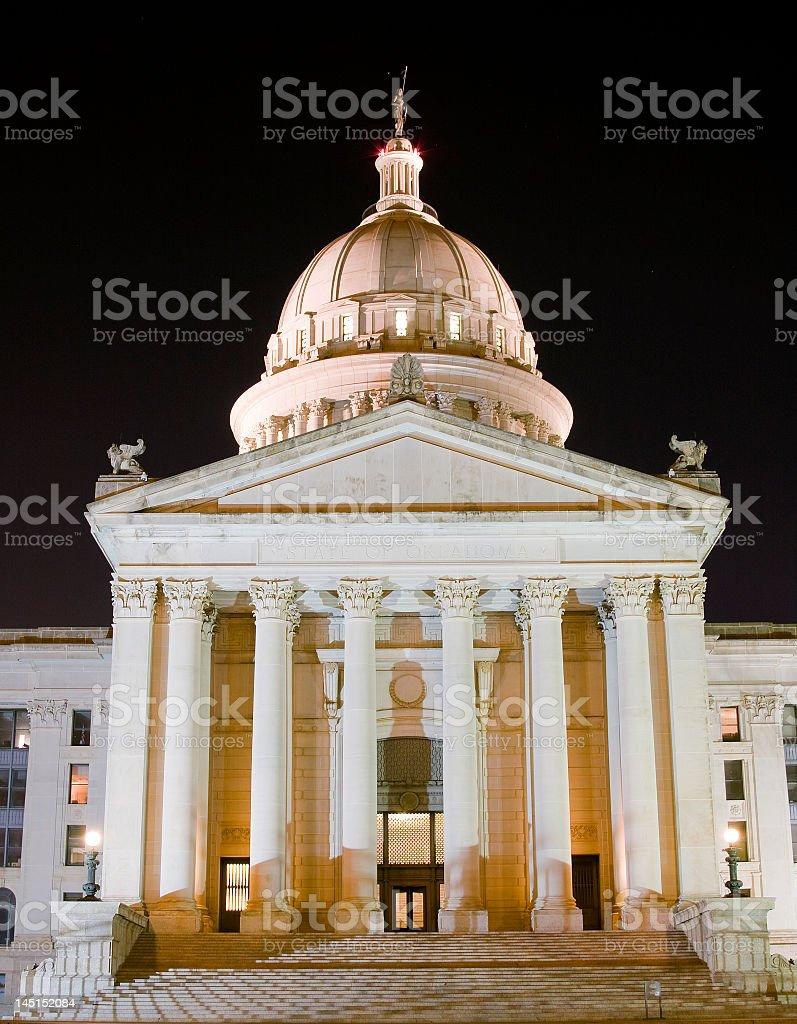 Oklahoma Capital Building royalty-free stock photo