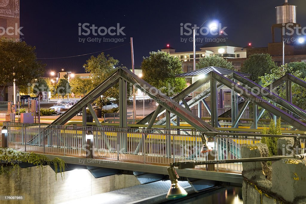 Oklahoma City - Bricktown royalty-free stock photo