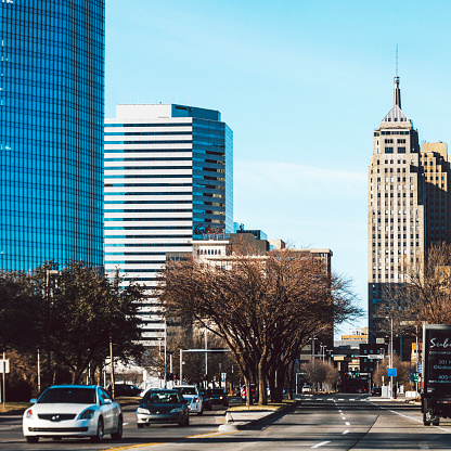 Oklahoma City Downtown Stock Photo - Download Image Now ...