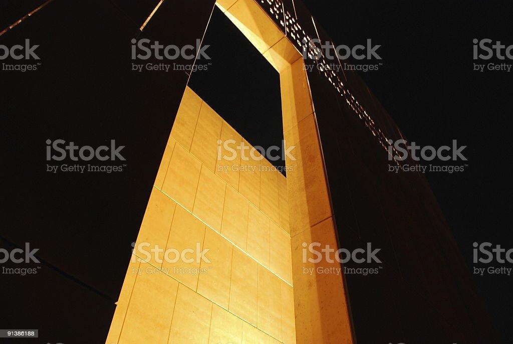 Oklahoma City National Memorial royalty-free stock photo