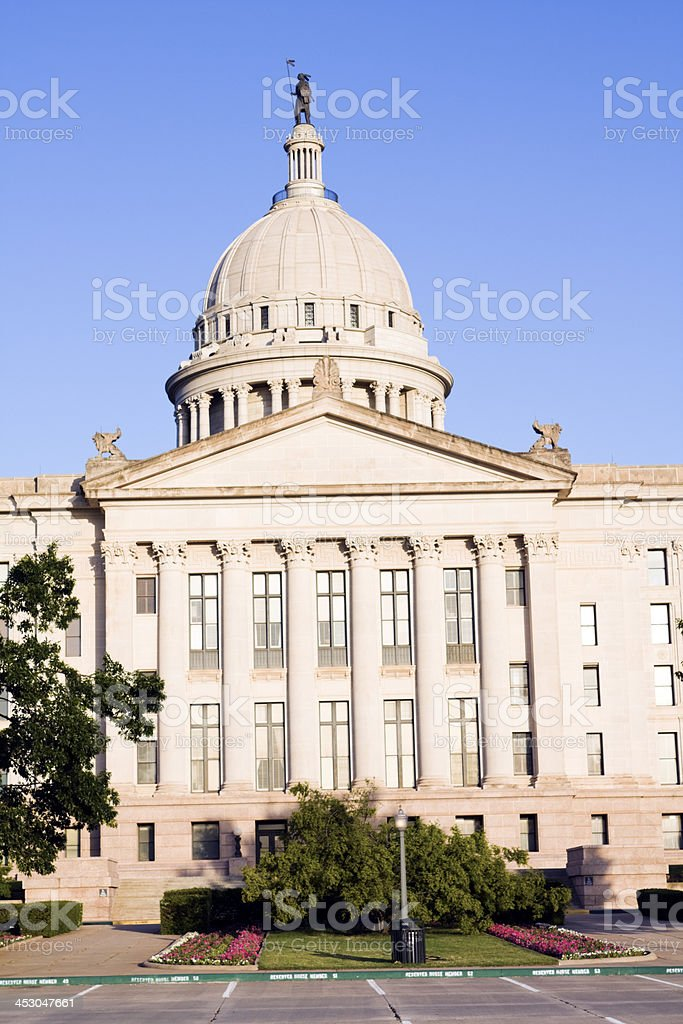 Oklahoma City - State Capitol royalty-free stock photo