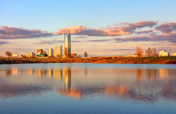 Oklahoma City Waterfront stock photo