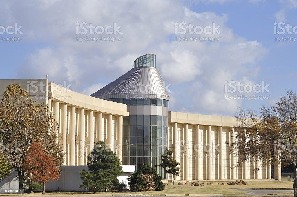 Oklahoma Historical Society Building stock photo