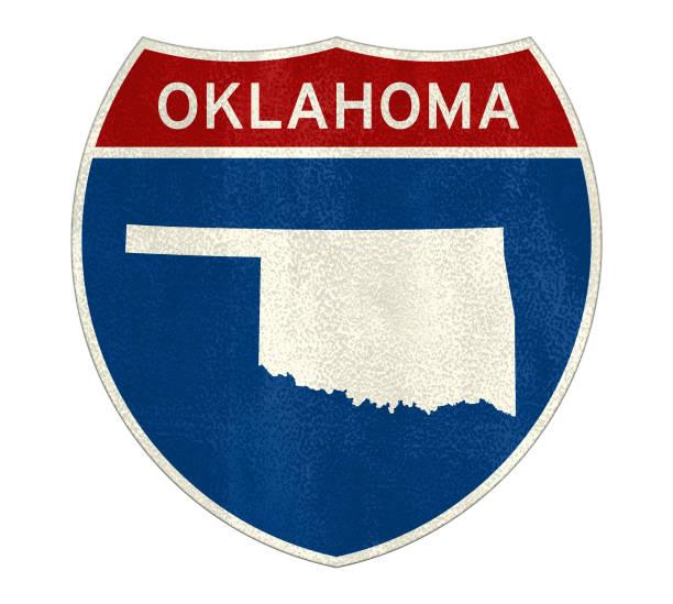 Oklahoma Interstata-Straßenschild – Foto