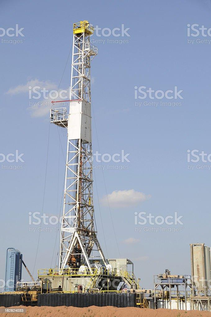 Oklahoma Oil Rig stock photo