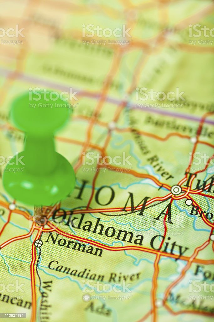 Oklahoma, OK royalty-free stock photo