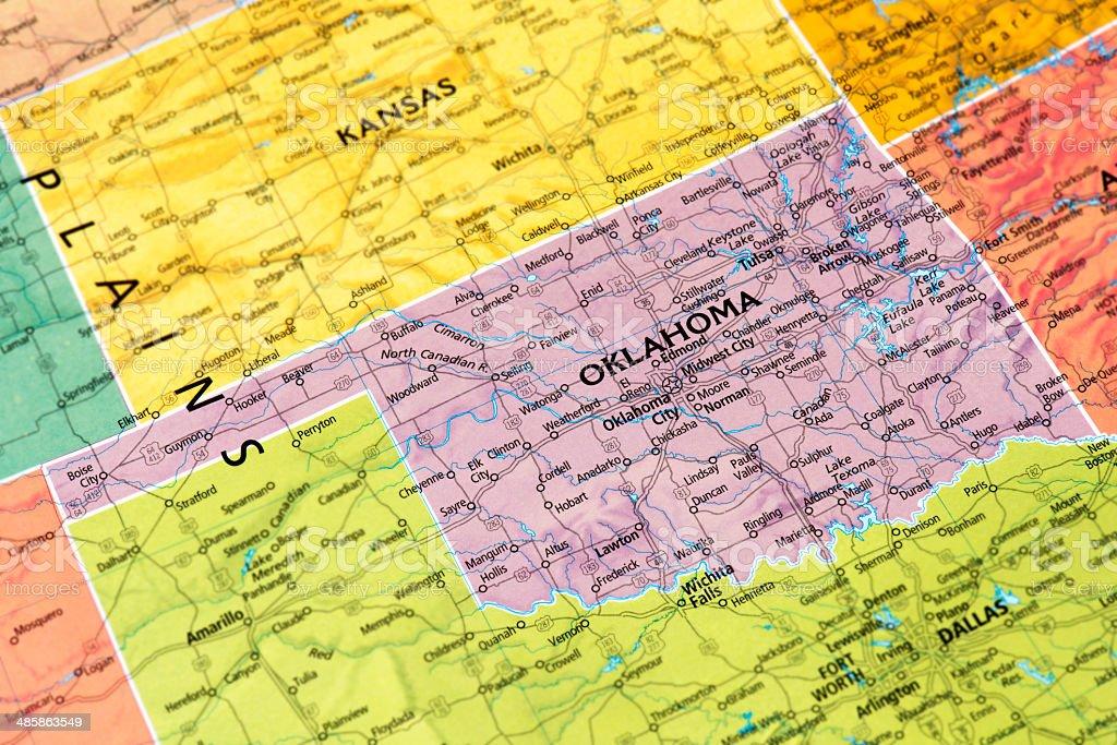 Oklahoma stock photo
